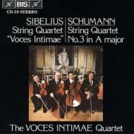 String Quartet / 3: Voces Intimae.q
