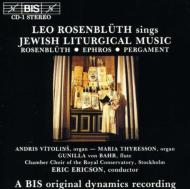 Jewish Liturgical Music: Rosenbluth / Ericson /