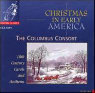 初期のアメリカのクリスマス曲集  コロンブス・コンソート
