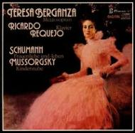 Frauenliebe Und Leben: Berganza(Ms)Requejo(P)+mussorgsky: Kinderstube