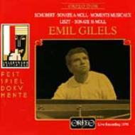 Piano Sonata.14 / Piano Sonata: Gilels Salzburg 1970