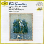 ピアノ協奏曲 アルゲリッチ(p)、アバド&ベルリン・フィル/夜のガスパール