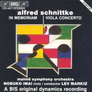 In Memoriam, Viola Concerto: 今井信子, Markiz / Malmo. so