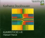 Klavierstucke, 1-11, : Herbert Henck(P)