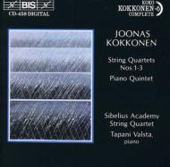 String Quartet.1, 2, 3, Piano Quintet: Valsta, Sibelius Academy.q