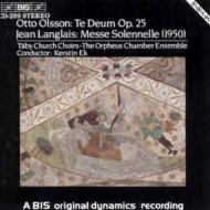 Te Deum / Messe Solennelle: Tabychaurch.cho, Etc