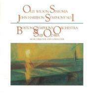 Sym.1: Ozawa / Bso +olly Wilson: Sinfonia