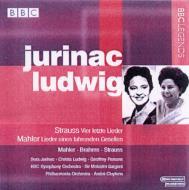 Lieder Eines Fahrernden Gesellen: Ludwig / Vier Letzte Lieder: Jurinac, Etc