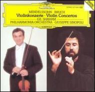 メンデルスゾーン:ヴァイオリン協奏曲、ブルッフ:ヴァイオリン協奏曲第1番 シャハム、シノーポリ&フィルハーモニア管
