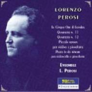 String Quartet.11, 12, Violin Little Sonata, Etc: Ensemble L.perosi