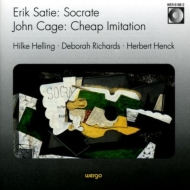 (Cage, 2 Pianos)socrate / Cheap Imitation: Henck(P)