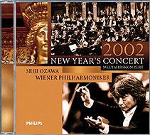 ニューイヤー・コンサート/2002: Ozawa / Vpo