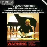 Russian Piano Music: Pontinen-stravinsky, Scriabin, Etc