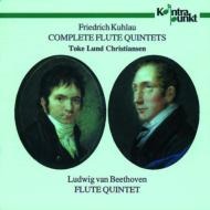 Flute Quintets: Christian(Fl)+beethoven: (Flute Quintet)violin Sonata.8