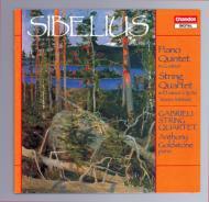 シベリウス:ピアノ五重奏曲 他 ガブリエリSQ