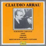 Carnaval: Arrau Chopin, Liszt, Debussy