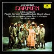 歌劇『カルメン』 アバド&ロンドン交響楽団 ベルガンサ ドミンゴ ミルンズ コトルバ