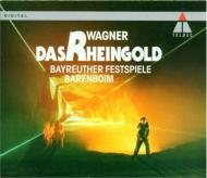 『ラインの黄金』全曲 バレンボイム&バイロイト(1991 ステレオ)(2CD)