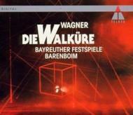 『ワルキューレ』全曲 バレンボイム&バイロイト(1992 ステレオ)(4CD)