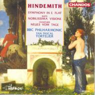 ヒンデミート:交響曲、気高い幻想 他 Y・P・トルトゥリエ/BBCフィル