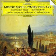 交響曲第4番、第5番 アバド&ロンドン響