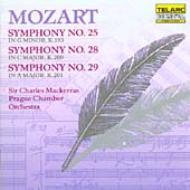 交響曲25、28、29番 マッケラス&プラハ室内管