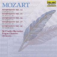 交響曲14〜18番 マッケラス&プラハ室内管
