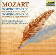 交響曲36、38番 マッケラス&プラハ室内管