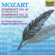 交響曲40、41番 マッケラス&プラハ室内管