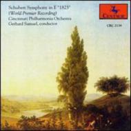 Symphony In E(1825): G.samuel / Cincinnati Po