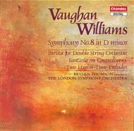 V・ウィリアムズ:交響曲第8番 B・トムソン/ロンドンSO