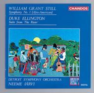 W・G・スティル:交響曲第1番 D・エリントン:川からの組曲 N・ヤルヴィ/デトロイトSO
