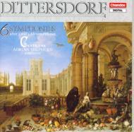 ディッターズドルフ:6つの交響曲 A・シェファード/カンティレーナ