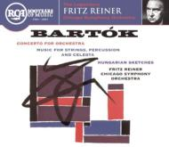 Concerto For Orch, Music For Strings Percussion & Celesta: Reiner / Cso