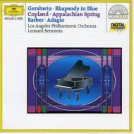 Rhapsody In Blue: Bernstein(P)/ Lapo +copland: Appalachian Spring, Barber