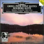 『ペール・ギュント』第1、2組曲、『悲しきワルツ』、『フィンランディア』、ほか カラヤン&ベルリン・フィル