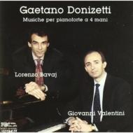 Donizetti: Music For Fpno 4 Hands: