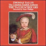 English Anthems: Phillips / Tallis Scholars