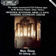 Aberg-unique Reconstructed 1724 Cahman Organ