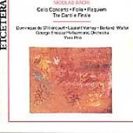 Bacri: Vlc Conc: Folia: Requiem: Tre Canti E Finale: