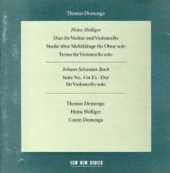 Cello Suite.4 / Chamber & Instrumental Works Demenga(Vc)holliger(Ob)