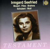 Seefried Sings Mozart、Brahms、Flies、Schubert、Wolf