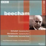 Sym.3 / 4 / Nutcracker: Beecham / Rpo('58)