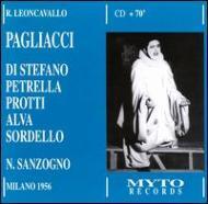 Pagliacci: Sanzogno(Cond)di Stefano, Etc ('56)