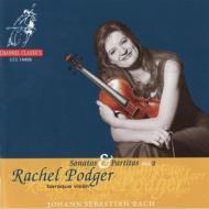 無伴奏ヴァイオリン・ソナタ&パルティータVol.2  レイチェル・ポッジャー