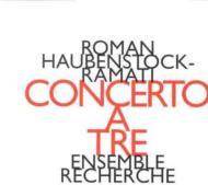 Concerto A Tre: Ensemble Recherche