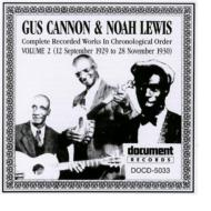 Gus Cannon / Noah Lewis/Complete Recorded Works Volume 2 1929-1930