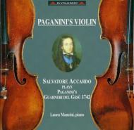 パガニーニのヴァイオリン アッカルド(vn)