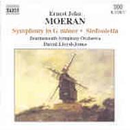 交響曲ト短調/シンフォニエッタ ロイド=ジョーンズ/ボーンマス交響楽団