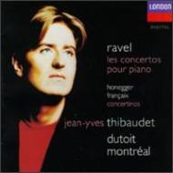 Piano Concertos: Thibaudet(P)Dutoit / Montreal So +honegger, Francaix